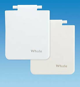 Caravan Whale Water inlet Housing Replacement WHITE Lid/Cover/Flap AK1401
