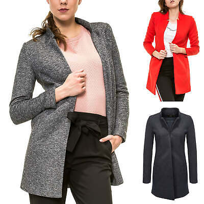 3809be0f7b829e ONLY DAMEN LONGBLAZER mit Karomuster Damenmantel Kurzmantel Business ...