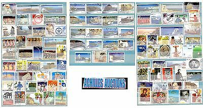 100 New Greek stamps all in Euros & Differents Years : 2001-2014, No: K2 {OFFER}
