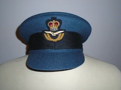 Raf Mens Officer Cap With Badge Size 60Cm Genuine Raf Issue