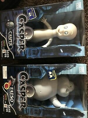 Casper Lot Of 9 Collectible Figures And Bendables Stretch Stinkie TYCO 1995 Glow