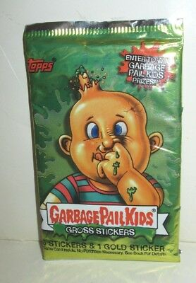 Topps Gpk Garbage Pail Kids Gross Stickers Trading Cards Sealed Foil Pack 2003