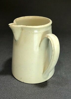 Rare 18th Century Creamware Pitcher W/ Side Handle