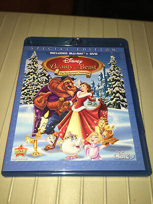 Beauty and the Beast: An Enchanted Christmas (Blu-ray/DVD, 2011, 2-Disc Set, Spe