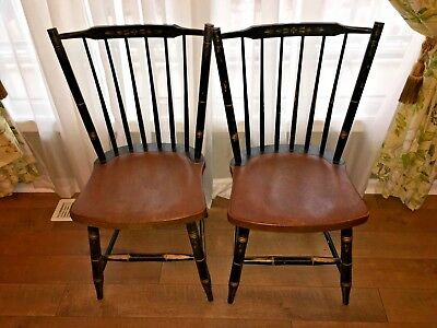 Vintage Hitchcock Dining Chair Pair