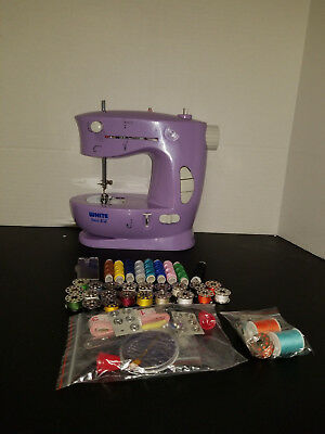 SEARS Kenmore Vintage Mini Portable Electric Sewing Machine Working Magnificent White Sew EZ Mini Sewing Machine