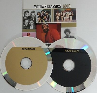 Motown Classics: Gold by Various Artists (CD 2005 2 Discs Motown) VG++ 9/10