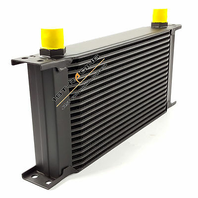 Black 19 Row Oil Cooler AN-10 Universal Engine Transmission Racing AN10 10-AN