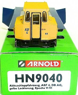 Battery Towing Vehicle 4 DB AG EP V VI Yellow Arnold hn9040 TT 1:120 OVP HL2 Å