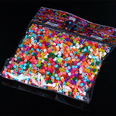Mixed Color 5MM 1000Pcs Perler Hama Beads Great Funny Toys for Kid DIY Crafts