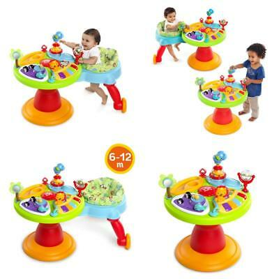 Baby Walk Toddler Activity Table Around We Go 3-In-1 Activity Center Zippity Zoo