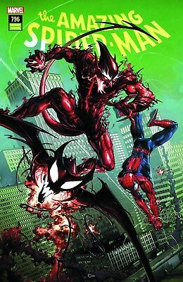 Amazing Spiderman 796 Clayton Crain Comicxposure Variant Red Goblin Story Starts
