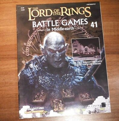 LORD OF THE RINGS Battle Games in Middle-earth Magazine Issue 41