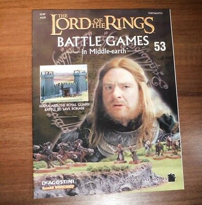 LORD OF THE RINGS Battle Games in Middle-earth Magazine Issue 53