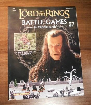 LORD OF THE RINGS Battle Games in Middle-earth Magazine Issue 57