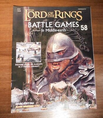 LORD OF THE RINGS Battle Games in Middle-earth Magazine Issue 58