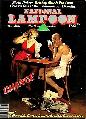 National Lampoon Magazine March 1979 Vfn Condition