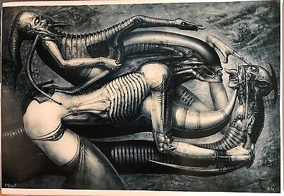 "H R Giger ""NECRONOM V"" Printer Proof (unsigniert)"