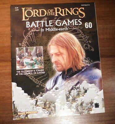 LORD OF THE RINGS Battle Games in Middle-earth Magazine Issue 60
