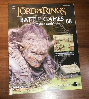 LORD OF THE RINGS Battle Games in Middle-earth Magazine Issue 68