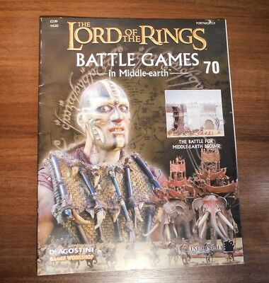 LORD OF THE RINGS Battle Games in Middle-earth Magazine Issue 70