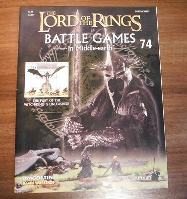LORD OF THE RINGS Battle Games in Middle-earth Magazine Issue 74
