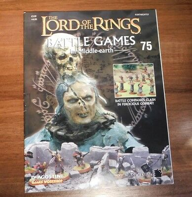 LORD OF THE RINGS Battle Games in Middle-earth Magazine Issue 75