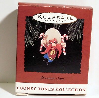 Yosemite Sam Looney Tunes Collection Hallmark Keepsake Ornament MIB 1994