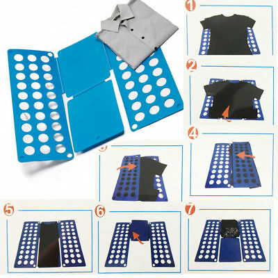 Adult Magic T Shirt Folder Board Clothes Jumper Laundry Organiser Flip Fold Easy