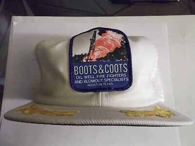 Boots & Coots 1980's Rare & Limited trucker Hat