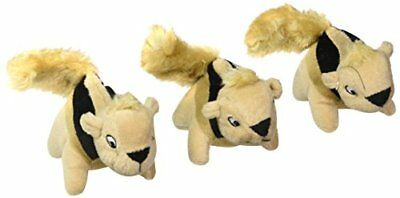 Squeakin' Animals Squeaky Plush Dog Toys, Replacement Hide a Squirrel Sq...