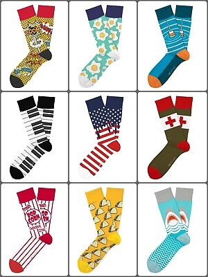 Two Left Feet® Socks Unisex for Small and Big Feet Quirky Style Dose of Humor
