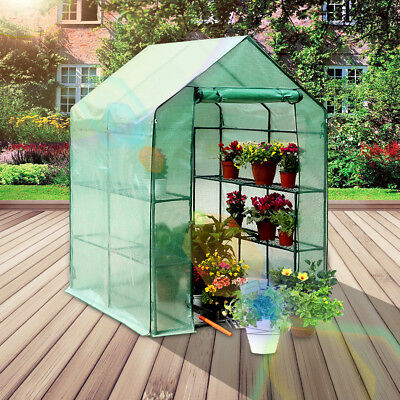 Garden Green House Portable Outdoor Warm Greenhouse Flower Plants Grow Sheds