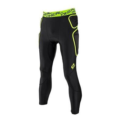 Oneal 2018 Trail PROTEKTOR Trousers Long - Lime - Schwarz MOTOCROSS ENDURO MX