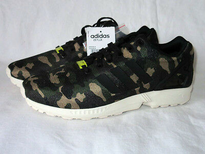 new concept bff9b 61835 New Adidas Flux Camo Vintage ZX Torsion Camouflage Equipment Army sz. 40 NEW