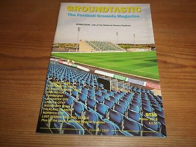 Groundtastic The Football Grounds Magazine GT35 Winter 2003 Ft Lincoln Woodford