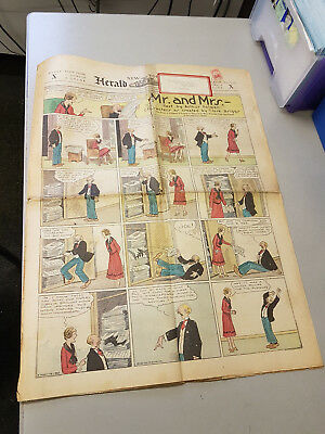 NEW YORK HERALD TRIBUNE Colour comic supplement - May 4th 1930