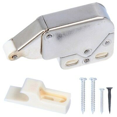 PUSH TO OPEN CATCH Cupboard Cabinet Door Spring Loaded Touch Release Mini  Tip