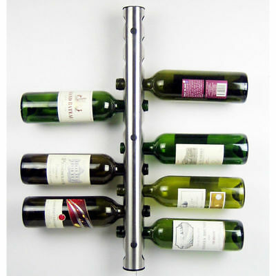 Creative 8 Holes 12 Holes Stainless Steel Wine Holders Wine Bottle Display Stand