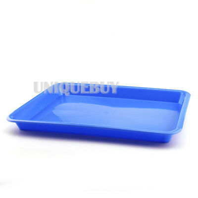 13.5 inch Dental Flat Plastic Instrument Tray plastic tray Multicolor Optional
