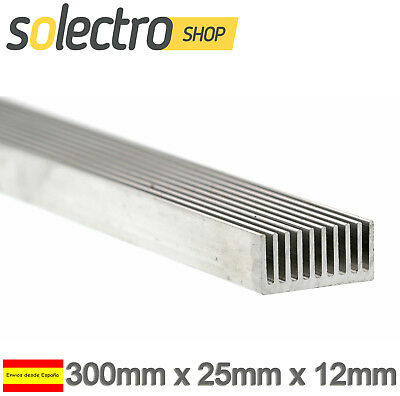Disipador de calor 30cm 2.5cm LED 3W 5W Power Led Aluminium Heatsink P0049