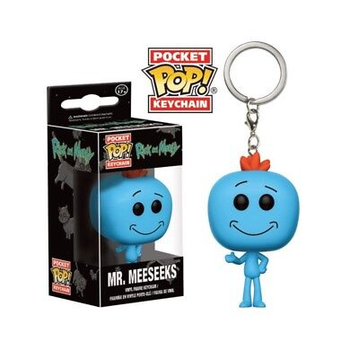 Porte Clés Rick And Morty Pocket - Mr Meeseeks