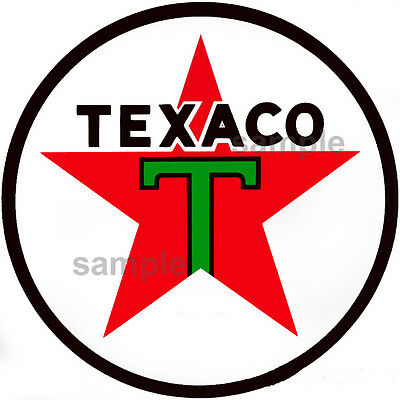 2 Inch Texaco Decal Sticker Several Styles Available