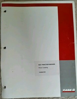 McCORMICK INTERNATIONAL B23 MOWER PARTS CATALOGUE