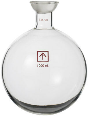 Across International 35/20 Heavy Wall 1000 mL Round Bottom Receiving Flask