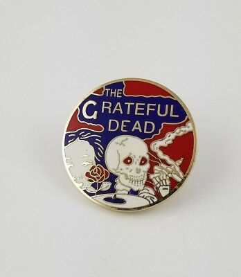 The Grateful Dead Skeletons from the Closet Lapel Pin (New)