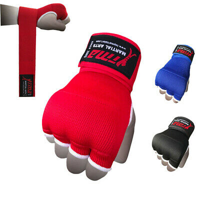 Hand Wraps Camo Bandages Fist Boxing Inner Gloves Mitts MMA Cotton Pair 4.5 m