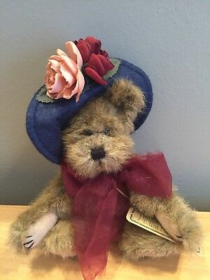 """Boyds Bears Investment Collectables~20Th Anniversary Seal """"yvette Bearette"""""""