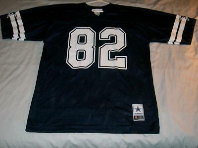 64aed290a2a Jason Witten 82 Dallas Cowboys NFL Blue Screen Print Jersey Men's Large used