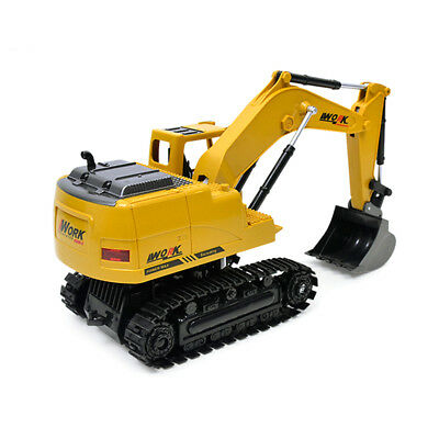 1 Set Rc Wireless remote control Excavator 1:24 Charging Kid Toy Xmas Gifts Hot